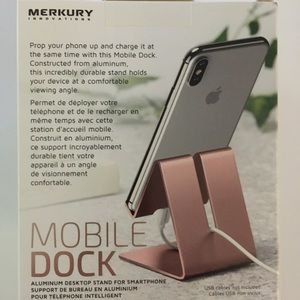 "NWOT ""Mercury Mobile"" Cell Phone Dock"